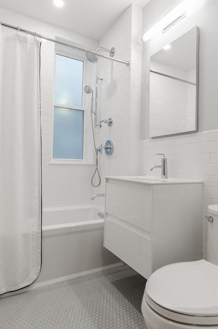 Bathroom dehumidifier